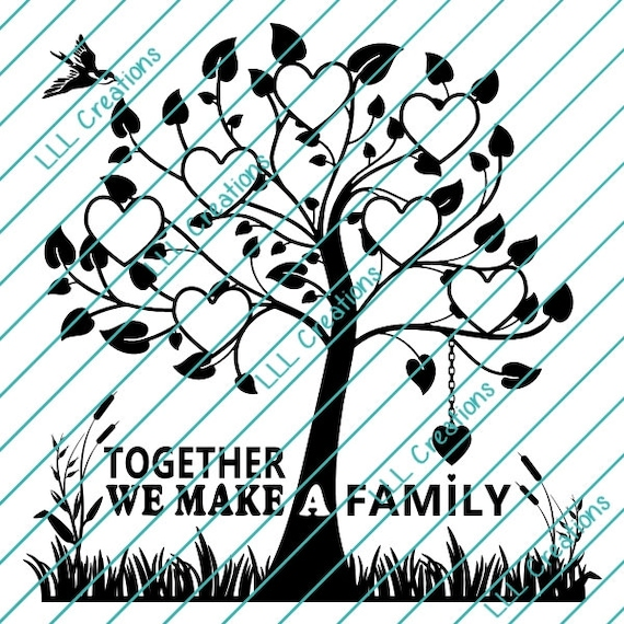 downloadable files nothing will be shipped family tree 7 etsy