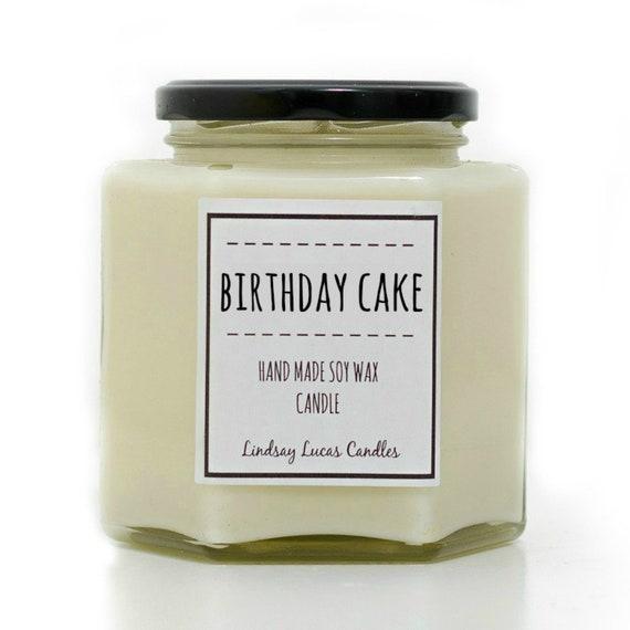 Birthday Candle, Birthday Cake Candle, Birthday Cake Scented Candle, Candles, Scented Candles, Bakery Candle, Cake Candle, Cake Scent