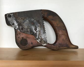 """Altered Wood Saw Handle """"Max"""""""