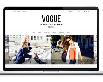 Responsive Blogger Templates- Vogue 2016