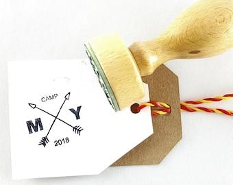 Custom STAMP, Initials Stamp, Custom Logo Stamp, Personalized Wedding Stamp, Camping Shop Stamp, Custom Business Stamp, Travel Custom Stamp