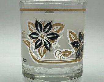 fd9f0e5ddc8 Vintage Glass Cerve Italian Mug with Floral Motif