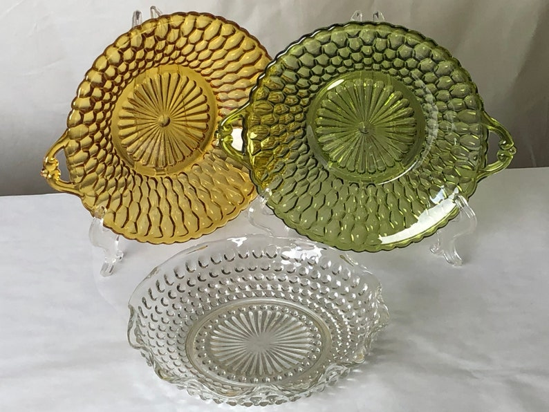 Mismatched Set of Three Candy Dishes