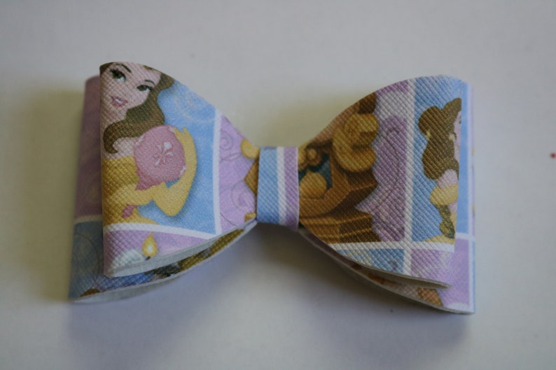 Beauty And The Beast Hair Bow Toddler Belle Hair Bow Belle Bow Beauty Hair Bow Princess Hair Bow Toddler Hair Bow Princess Belle