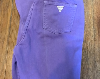 747a29bc8f Vintage Guess George Marciano Mens Pastel Purple Denim 30x32