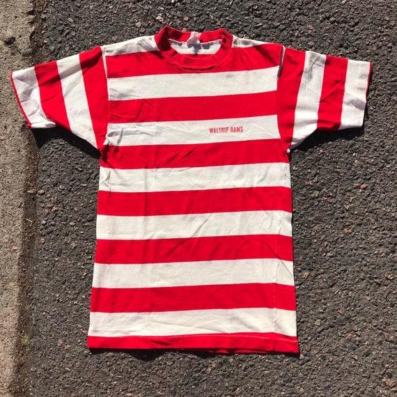 Vintage 1960's Champion striped pocket shirt size