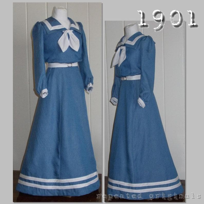 Edwardian Sewing Patterns- Dresses, Skirts, Blouses, Costumes v $11.49 AT vintagedancer.com