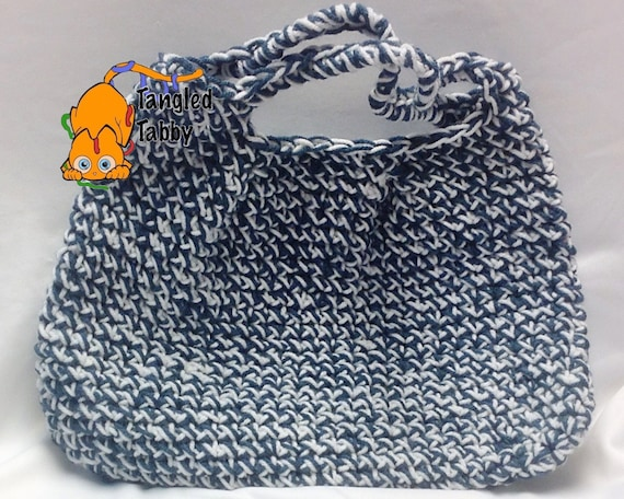 Crochet Pattern Crochet Handbag Pattern Simple Crochet Bag Pattern