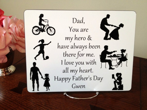 Fathers Christmas Gift For Dad From Daughter