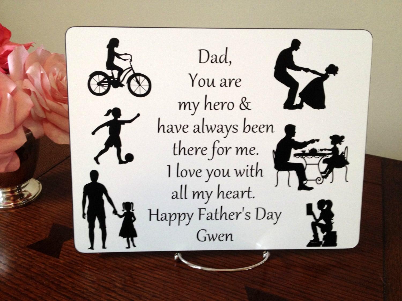 Weihnachts-Geschenk für Papa Tochter Papas Geschenk für Papa | Etsy