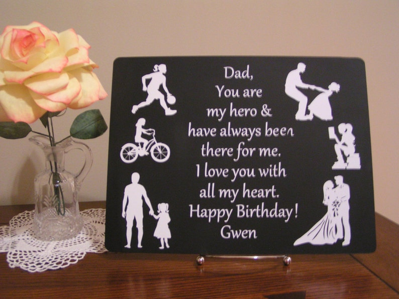 Personalized Birthday Gift For Dad From Daughter Christmas