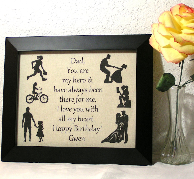 Gifts For Dad From Daughter Birthday Gift Fathers
