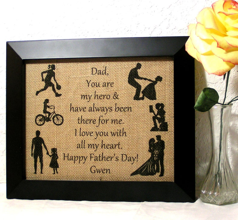 Personalized Christmas Gift for Dad from Daughter, Personalized Gift For  Dad, Holiday Gift From Children, Dad Gift, Father Gift,Customizable