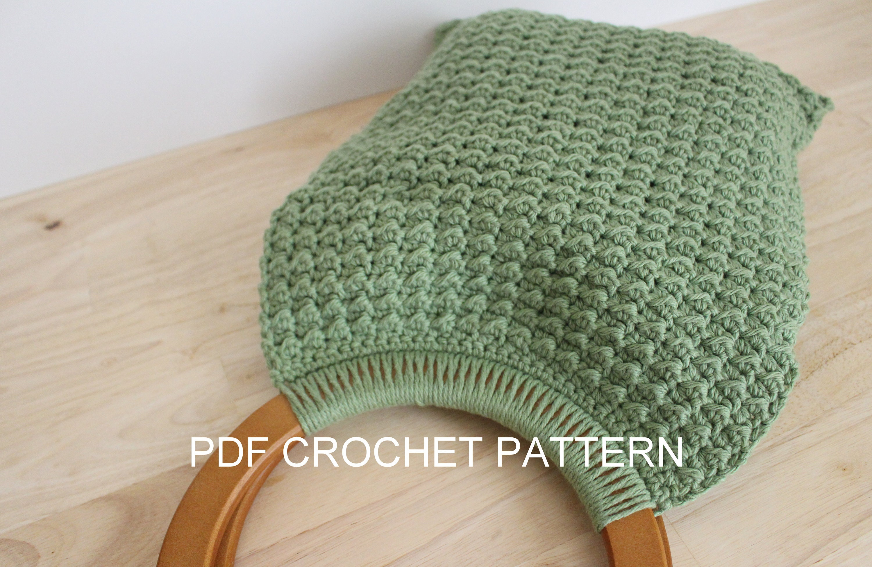 Crochet Pattern Easy Crochet Handbag Pattern Pattern For Etsy