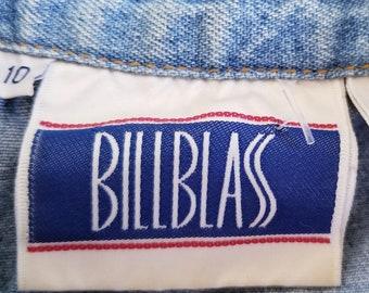 Vintage Bill Blass Denim Dress - Size 10