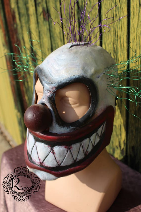 Leather Clown Mask - Chuckles