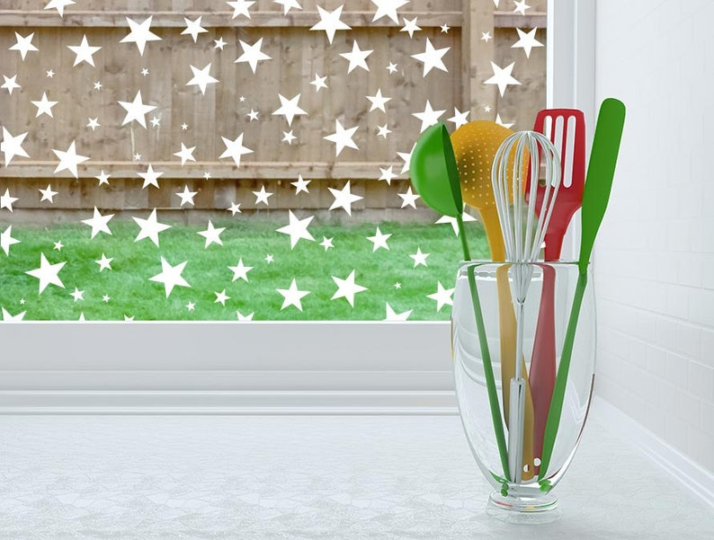 Decorative Window and Glass Film  Static Cling or Removable image 0
