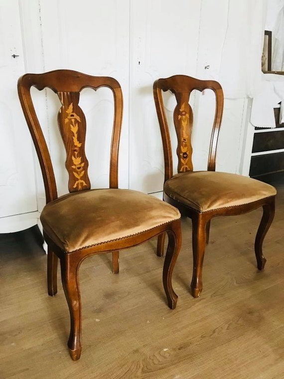 """2 wunderschöne Antike Stühle """"Inge"""""""