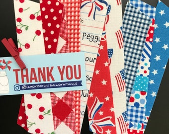 10 count patriotic washi, variety pack