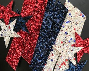 Patriotic Glitter Pack, choose type