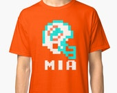 Tecmo Bowl, Tecmo Bowl Shirt, Tecmo Bowl T-shirt, Tecmo Bowl Helmet, MIA Helmet, MIA, Tecmo Bowl Art, Tecmo Superbowl, Video Game Football