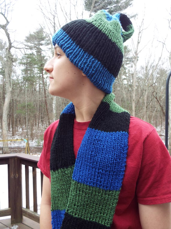 Mobius Scarf and Klein Bottle Hat Set Pi Day Party Math  2739e253bfd