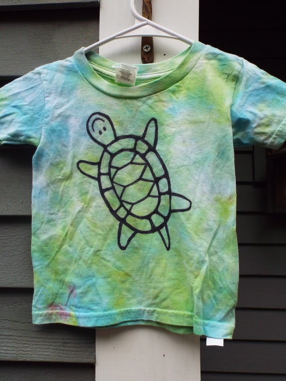 Tie Dye Turtle Fashion Mens T-Shirt and Hats Youth /& Adult T-Shirts