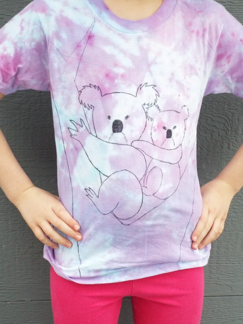 96873239 Toddler Koala Shirt, Custom Tie Dye Shirt for toddlers w mama and baby  koala bear, Toddler Tie Dye Koala T-shirt, Animal Lover, Australia