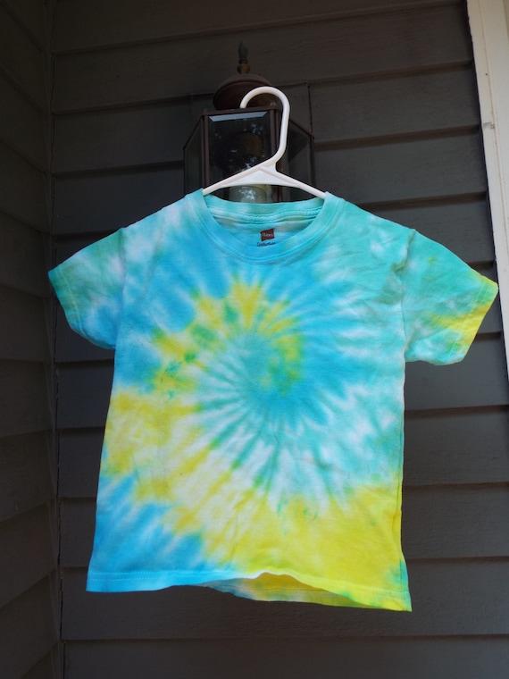 boho kids kids shirt hippie kids tie dyed shirt kids L