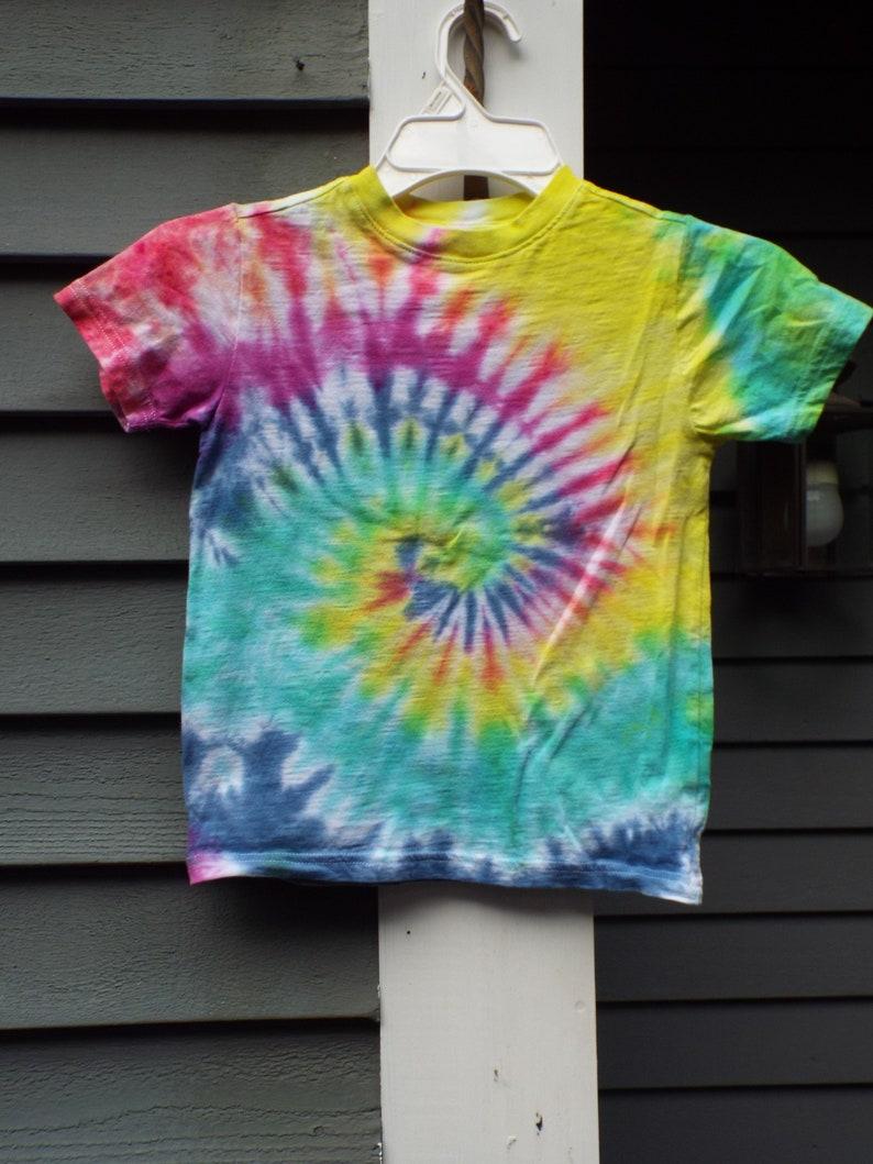 6d9e17a8 XS Kids Hippie Shirt Kids Tie Dye Shirt Youth XS Bright   Etsy