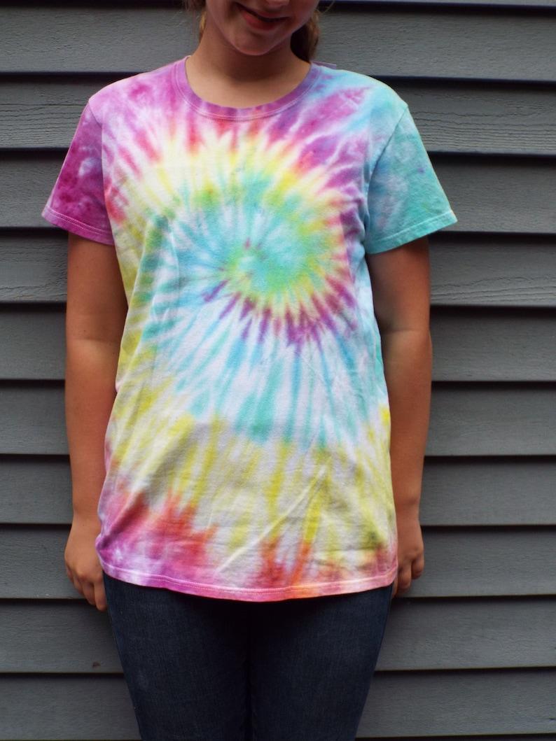 Tie Dye T Shirt Ladies Dreamworks