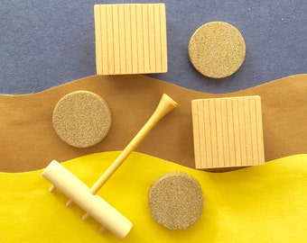 Zen Garden Accessories Zen Garden Rake (1) Zen Garden Platform (2) Wooden  Stepping Stones (3) Accessories ONLY