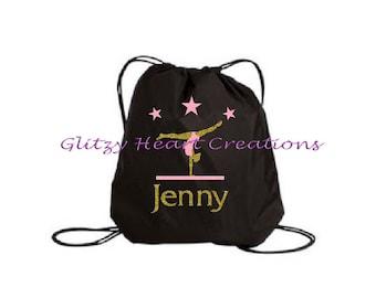 ab4022bc77bd Personalized Girls Gymnast Bag
