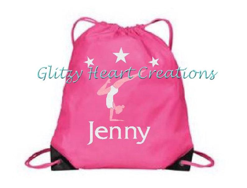 2a1d3df49c6e Personalized Girls Gymnast Bag Gym Bag Girls Bag Gymnastics