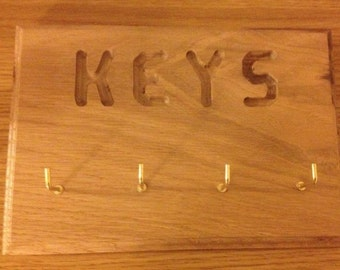 Oak Key hanger