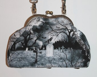 "Bag with clasp ""Cemetary"" small size"