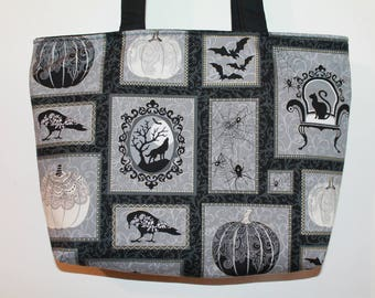 'Manor' tote bag with zipper