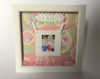 Mother's Day photo frame / box frame / granny gift