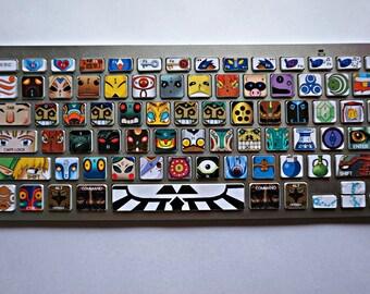 Legend of Zelda: Villains keyboard decal sticker set (for Apple Mac)