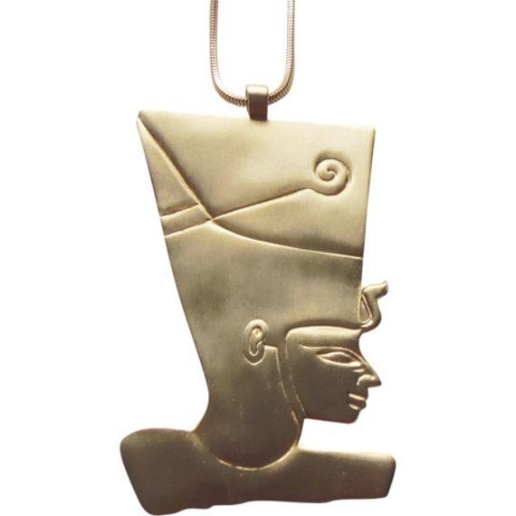 Kenneth Jay Lane Egyptian Pharaoh Necklace Vintage