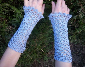 Headlines #Collection (blue) crochet cotton was