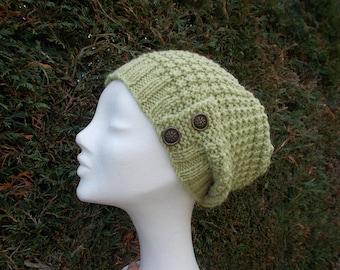 Women's cap in wool and alpaca