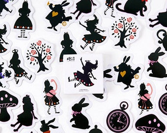 Alice Stickers Pack SM232229 45pcs