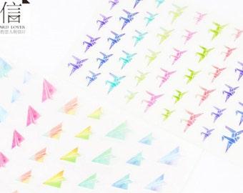Cranes Paper Planes Sticker