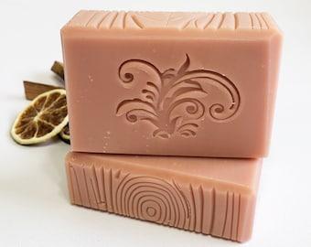 Rosewood & Bergamot all natural bar soap