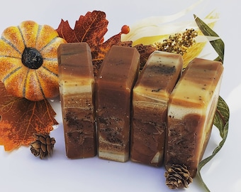 Spiced Pumpkin Latte soap