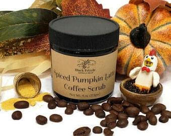Spiced Pumpkin Latte Coffee Scrub 4 oz