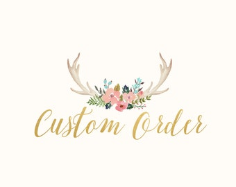 Custom Order For Sarah Stratton