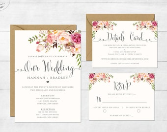 wedding invite etsy
