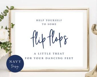 25f538a38 Flip Flops Sign A Little Treat For Dancing Feet Sign